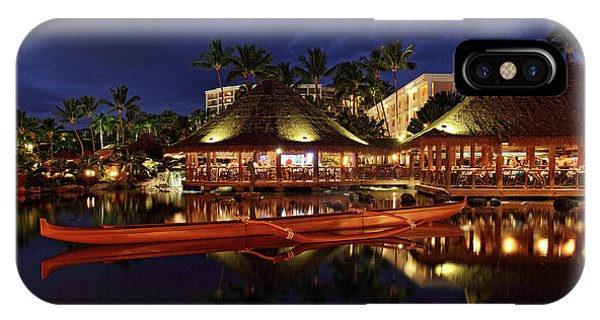 IPhone Case featuring the photograph Grand Wailea Maui by Pierre Leclerc Photography