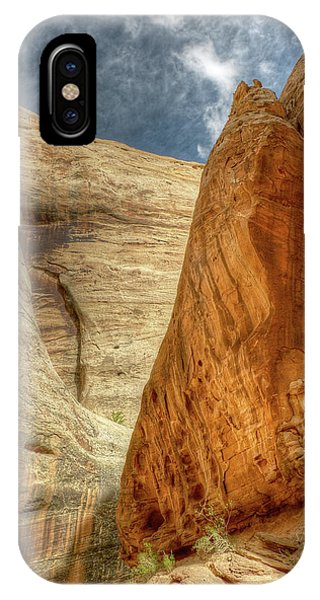 IPhone Case featuring the photograph Grand Wash Narrows, Capital Reef Np, Utah by Michael Kirk