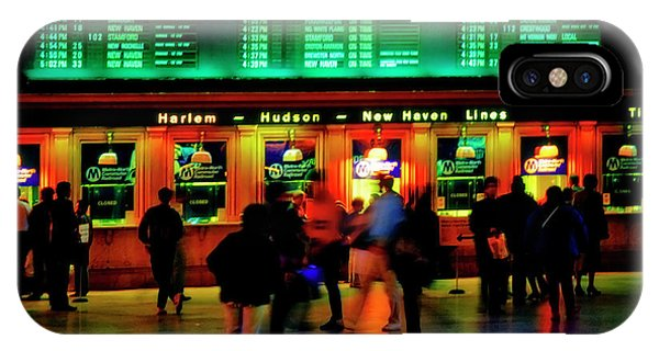 IPhone Case featuring the photograph Grand Central Station Nyc by Tom Jelen