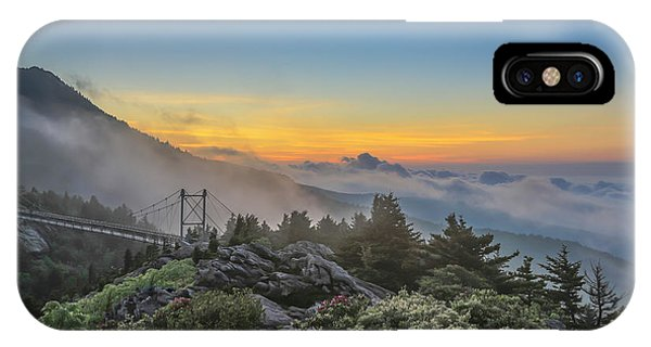 Grandfather Mountain Sunrise IPhone Case
