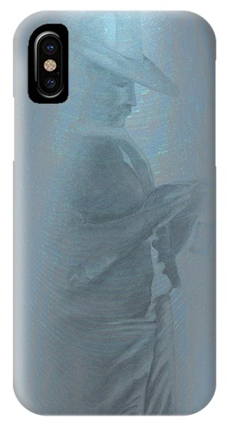 Grandfather's Ghost IPhone Case