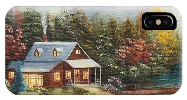 Grandpa's Cabin IPhone Case