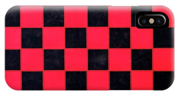 IPhone Case featuring the photograph Grandpa's Checkerboard by Jeff Phillippi