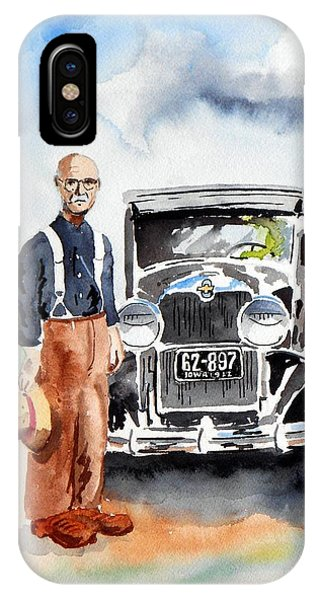 iPhone Case - Grandpa's Chevy by Richard Zunkel