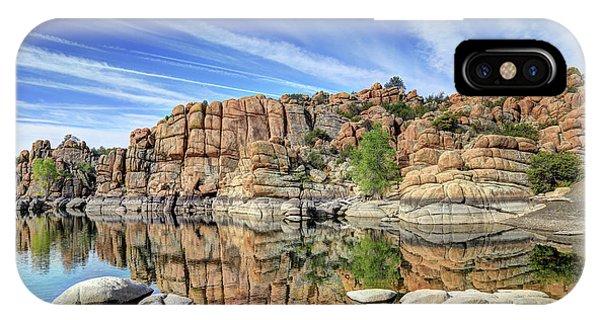 Granite Dells At Watson Lake IPhone Case