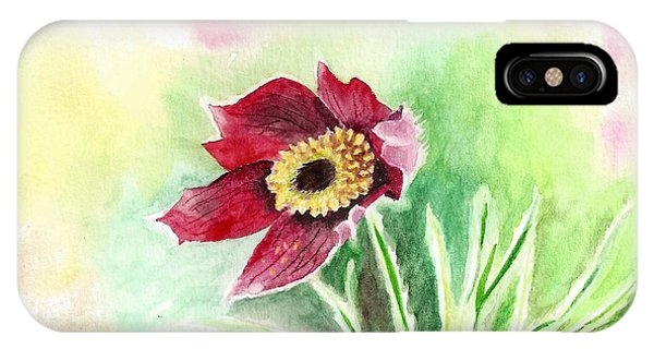 Granny Flower 2 IPhone Case