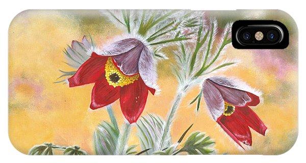 Granny Flowers IPhone Case