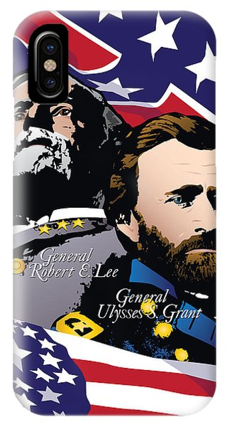 Grant And Lee At Appomattox IPhone Case