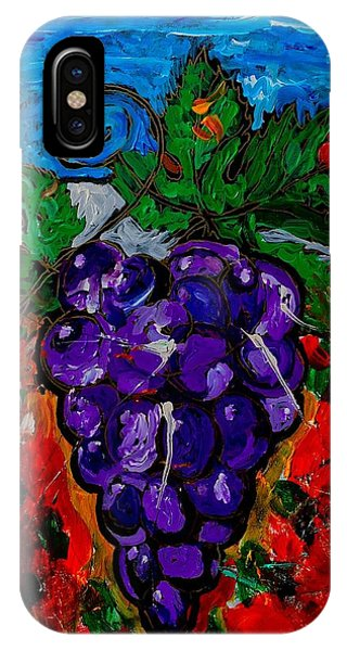 Grape Jazz IPhone Case