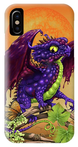 Grape Jelly Dragon IPhone Case