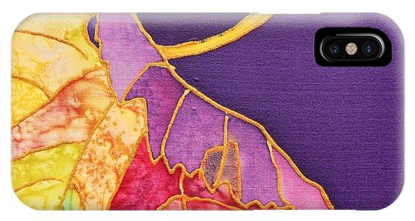 Grape Leaves IPhone Case