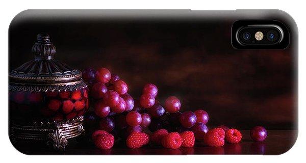 Grape Raspberry IPhone Case