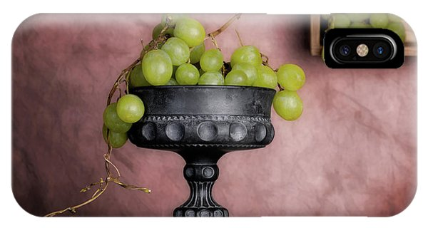 Grape iPhone X Case - Grapes Centerpiece by Tom Mc Nemar