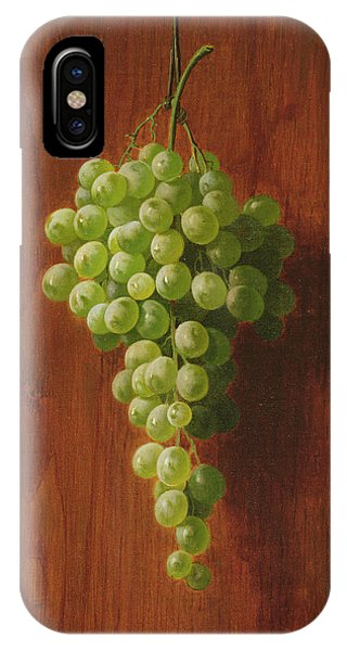 Bar iPhone Case - Grapes   Green by Andrew John Henry Way