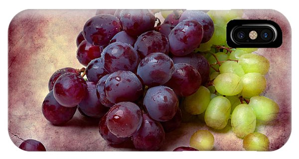 Grapes Red And Green IPhone Case