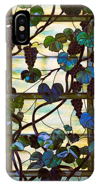 Green Grape iPhone Case - Grapevine by Louis Comfort Tiffany