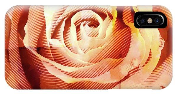 Graphic Rose IPhone Case