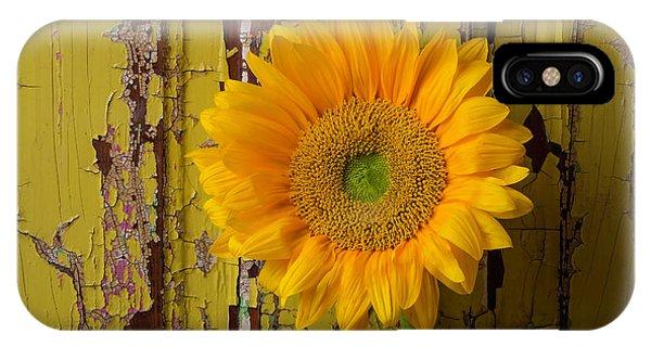 Graphic Sunflower IPhone Case
