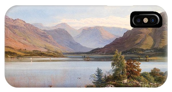 Bucolic iPhone Case - Grasmere by Henry Moore