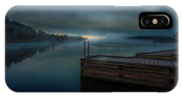 Grass Creek Sunrise 1 IPhone Case