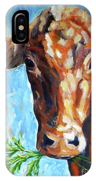 Wheeler Farm iPhone Case - Grassfed by JoAnn Wheeler