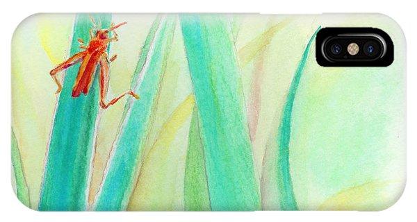 Grasshopper 2 IPhone Case