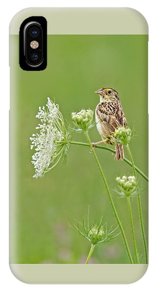 Grasshopper Sparrow IPhone Case