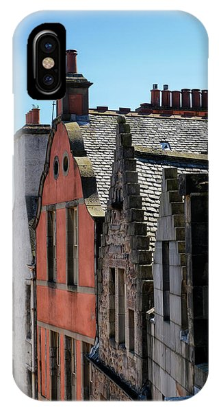 IPhone Case featuring the photograph Grassmarket In Edinburgh, Scotland by Jeremy Lavender Photography