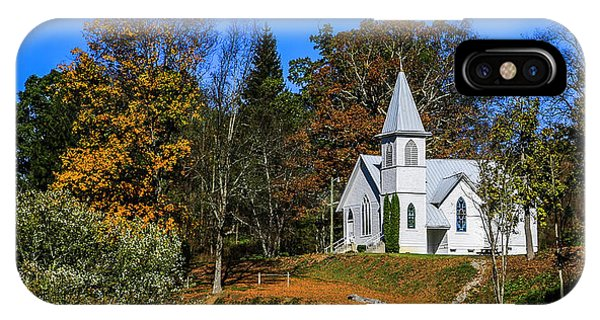 Grassy Creek Methodist Church IPhone Case