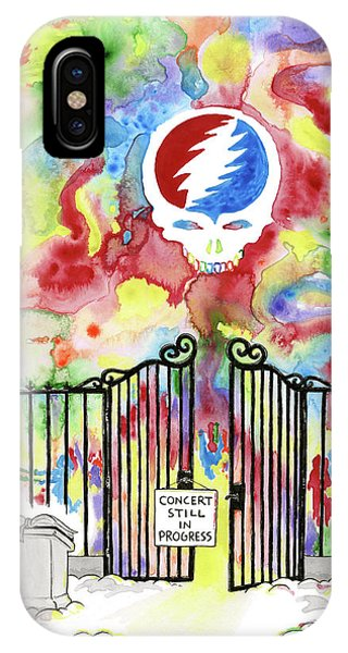 Grateful Dead Concert In Heaven IPhone Case