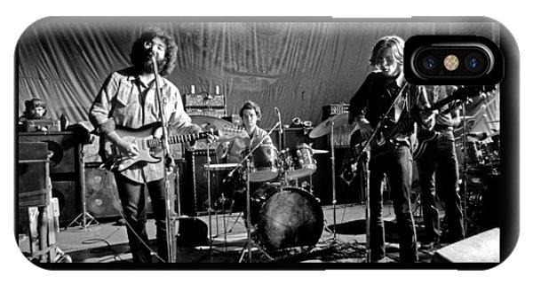 Grateful Dead In Concert - San Francisco 1969 IPhone Case