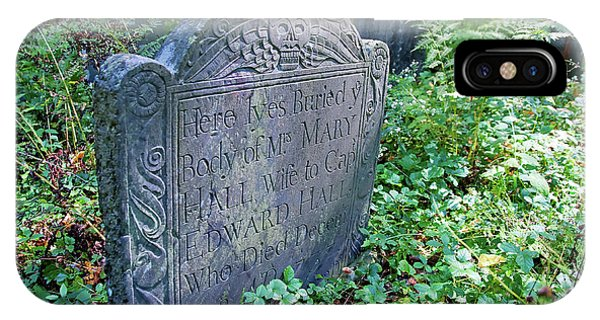 Grave Of Mary Hall IPhone Case