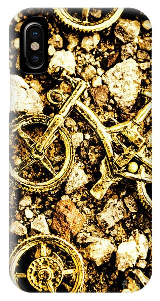 Boulder iPhone Case - Gravel Bikes by Jorgo Photography - Wall Art Gallery