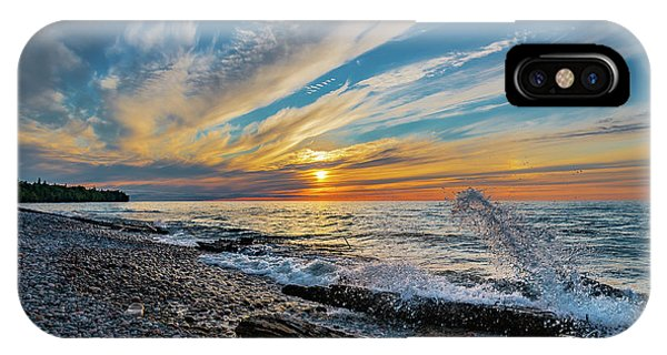 Graveyard Coast Sunset IPhone Case