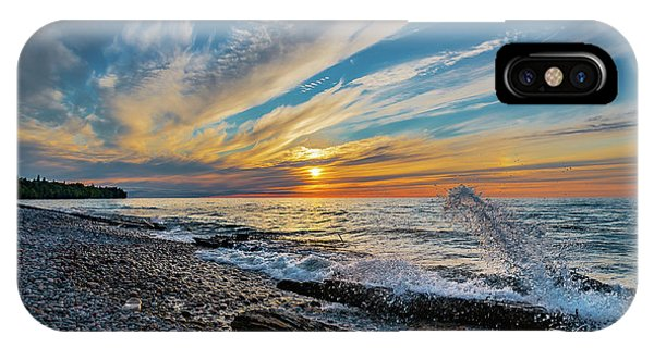 Graveyard Coast Sunset IPhone Case