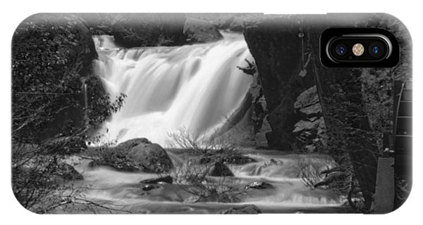 Gray Eagle Falls IPhone Case