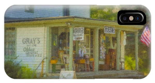 Gray's Store In Little Compton Rhode Island IPhone Case