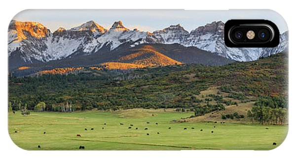 Grazing Under Sneffels IPhone Case