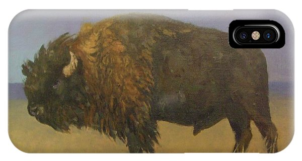 Great American Bison IPhone Case