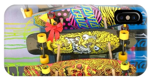 Color iPhone Case - Great Art On These Skateboards! by Shari Warren