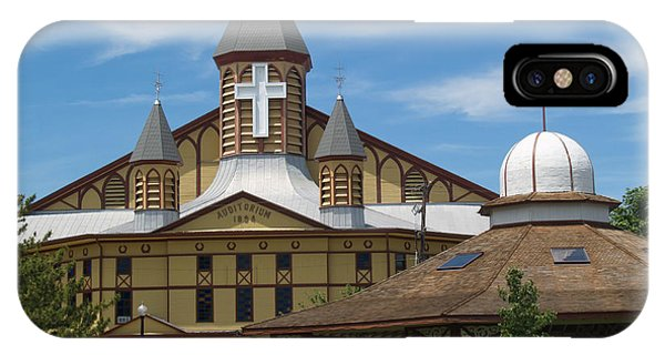 Great Auditorium Of Ocean Grove New Jersey IPhone Case