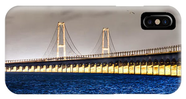 Great Belt Bridge IPhone Case