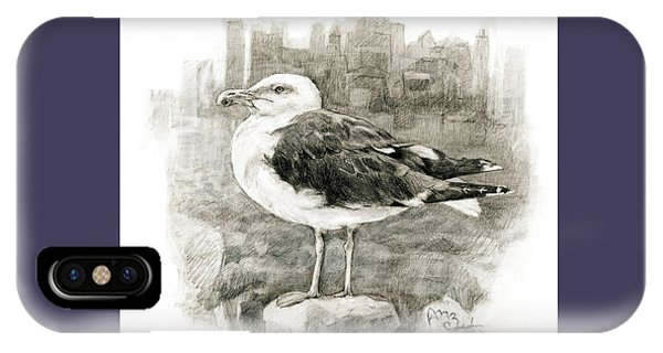 Great Black-backed Gull IPhone Case