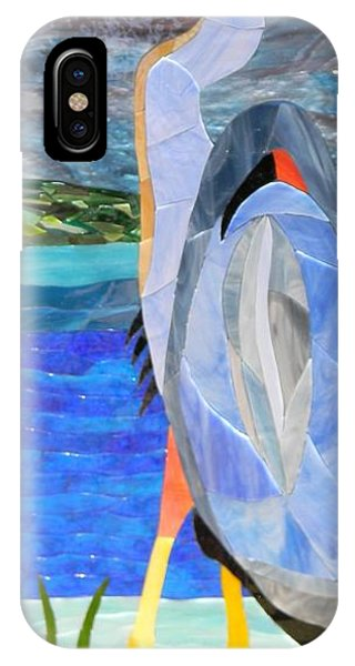 Great Blue Heron 2 Phone Case by Charles McDonell