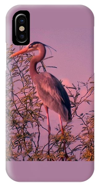 Great Blue Heron - Artistic 6 IPhone Case