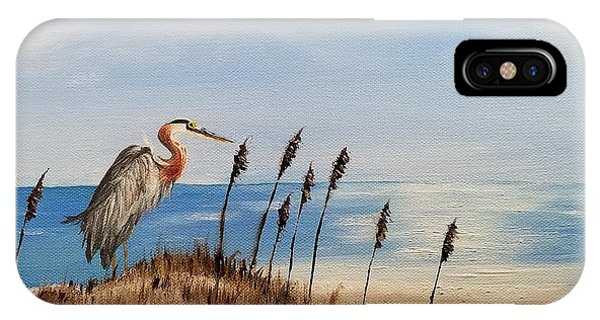 Great Blue Heron - Outer Banks IPhone Case