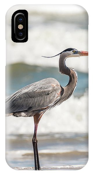 Great Blue Heron Profile IPhone Case