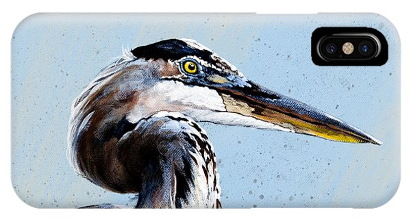 Great Blue Theodore IPhone Case