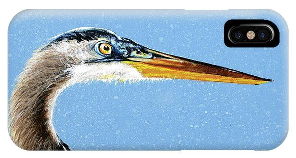 Great Blue Walter IPhone Case