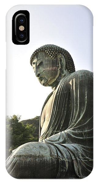 Great Buddha Of Kamakura Phone Case by Andy Smy